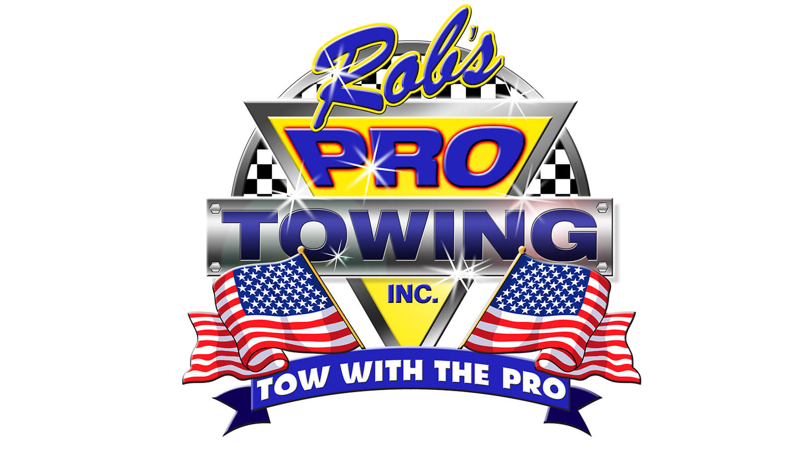 Rob's Pro Towing Logo